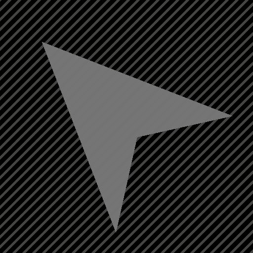 arrow, cursor icon