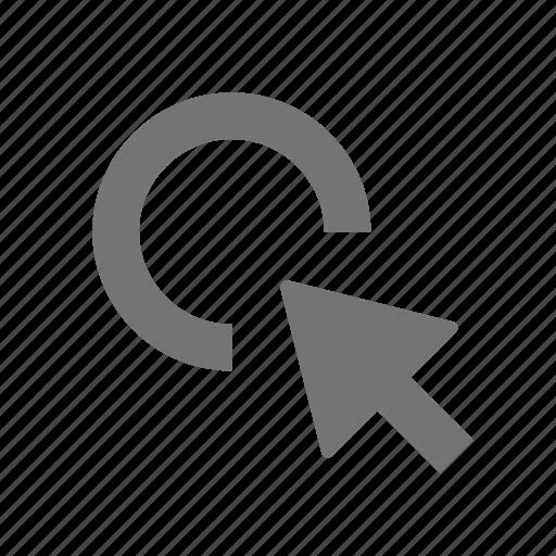 arrow, click, cursor icon