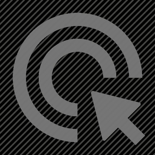 arrow, click, cursor, double click icon