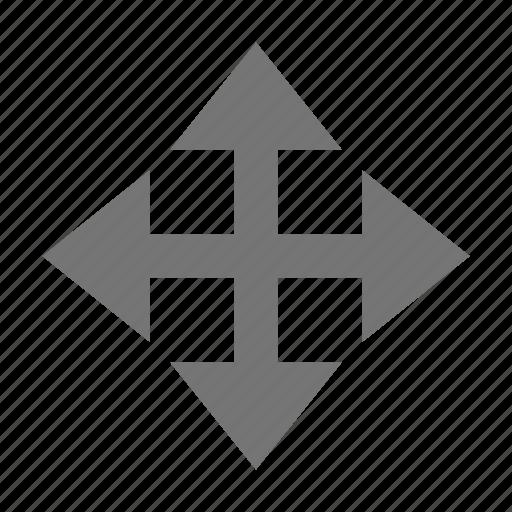 all direction, arrows, cursor icon