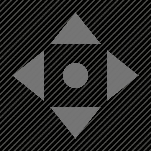 all direction, cursor icon