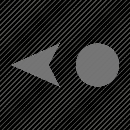 cursor, cursor left icon