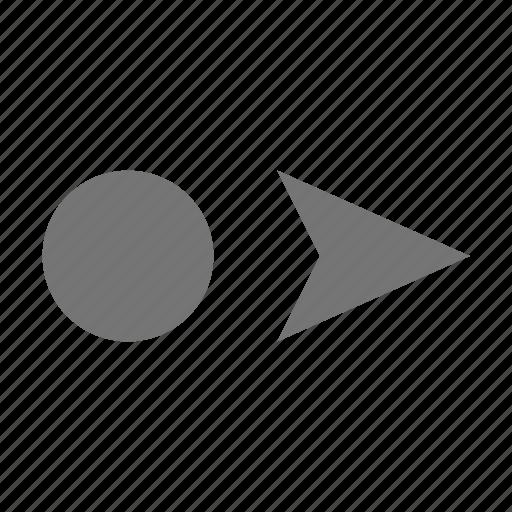 cursor, cursor right icon