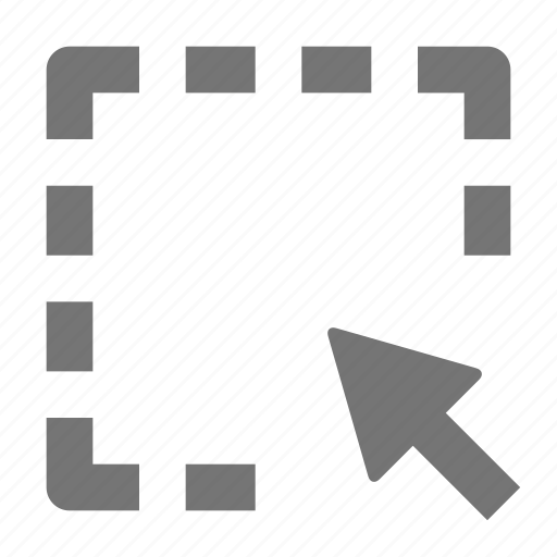 arrow, cursor, select icon