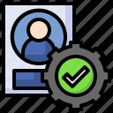 account, user, admin, settings, avatar