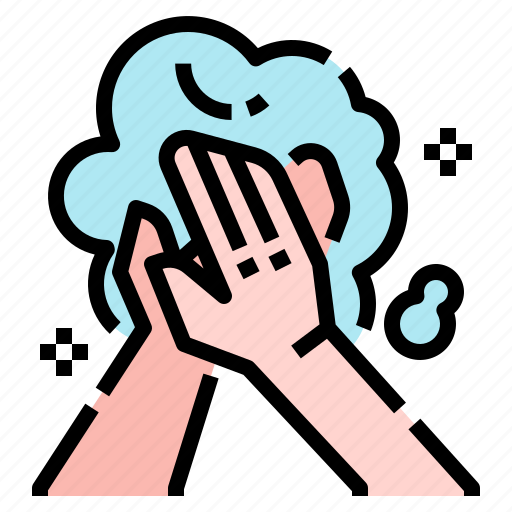 cleaning, hand, healthcare, hygiene, protection, self, wash icon