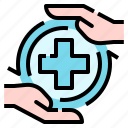 covid, healthcare, medical, protection, self icon