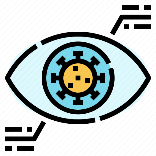 data, healthcare, information, medical, protection, self, virus icon