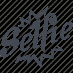 flash, instant, photo, selfie, smartphone icon
