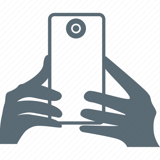 device, hand, hands, mobile, photo, selfie icon