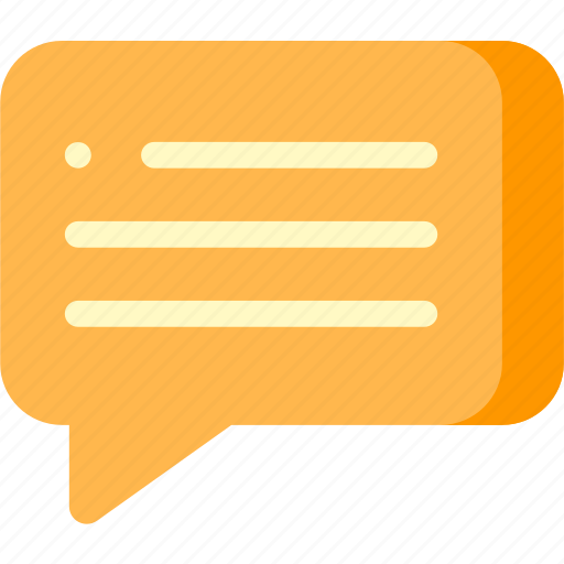 blog, bubble, chat, commenting, network, social, speech icon
