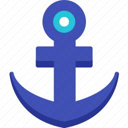 anchor, chain, connection, link, nautical, url, web icon