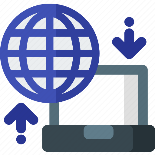 cloud, data, hosting, internet, network, server, transfer icon