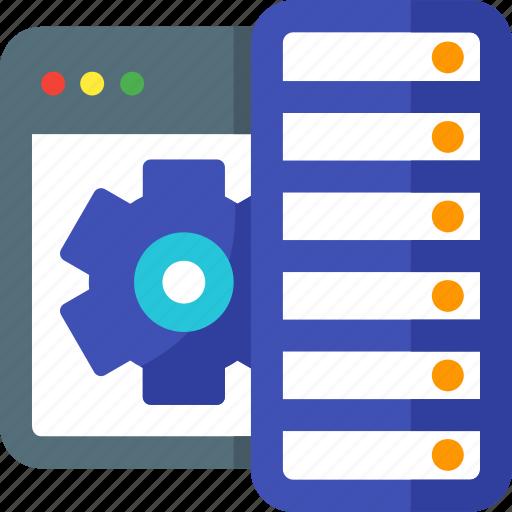 connection, data, database, hosting, network, server, storage icon