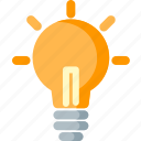 bulb, creative, creativity, electric, idea, lamp, lightbulb icon