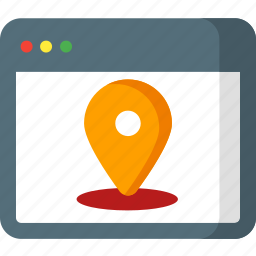 location, map, navigation, optimizer, pin, place, pointer icon
