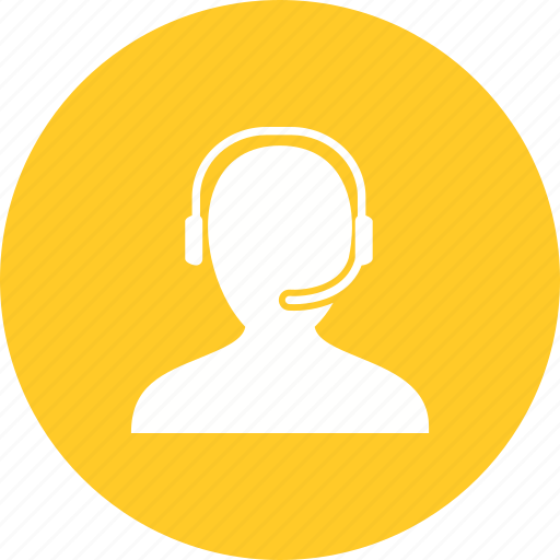 Call, center, customer, headset, service, support, team icon - Download on Iconfinder