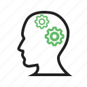 brain, brainstorming, human, internet, knowledge, laptop, skills