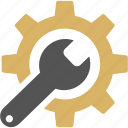 gear, settings, support, technical, technical support, tools icon