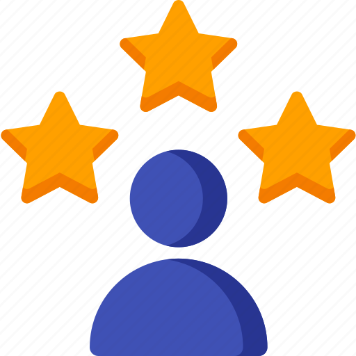 avatar, client, customer, profile, star, testimonial, user icon