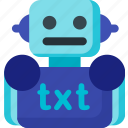 data, develope, extension, robots, seo, txt, web icon
