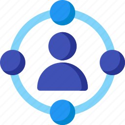 campaign, communication, connection, media, network, social, user icon