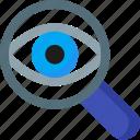 seo, spy, eye, magnifying, optimization, search, zoom