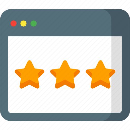 favorite, page, rate, rating, seo, star, web icon