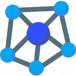 communication, connection, internet, network, networking, online, social icon