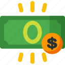 bank, budget, coin, currency, dollar, money, payment icon