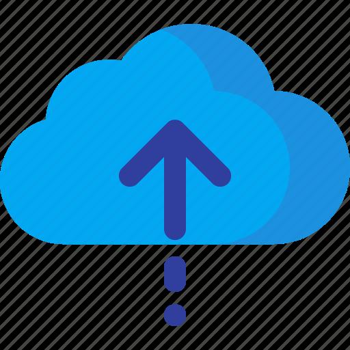 cloud, computing, data, database, storage, up, upload icon