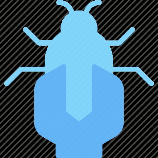 bug, business, fix, internet, marketing, seo icon