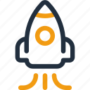 rocket, launch, spaceship, shuttle, space, technology, startup