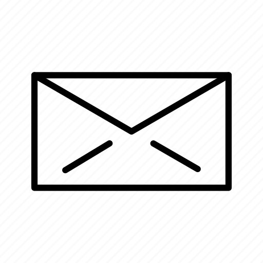 email, envelope, message, text icon