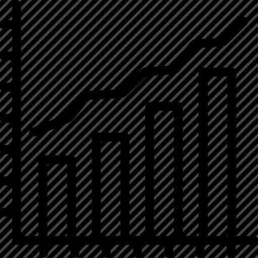 analytics, business, chart, graph, report, seo, statistics icon