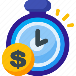 clock, finance, money, saving, savings, schedule, time icon