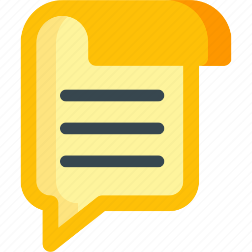 article, blog, blogging, bubble, content, speech, talk icon