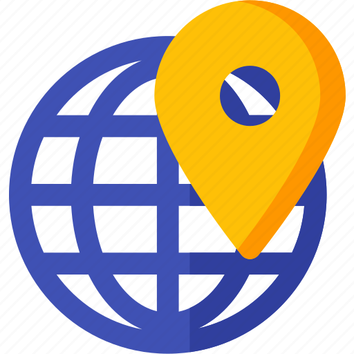 direction, geo, map, navigation, pin, position, target icon