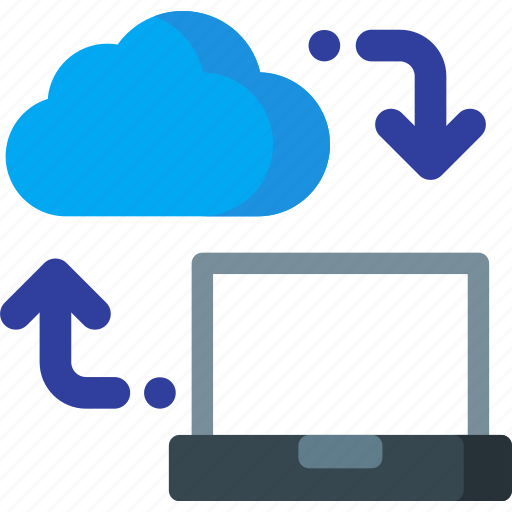 cloud, computing, connection, download, network, storage, upload icon