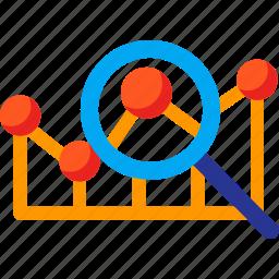 analysis, analytics, data, finance, find, report, statistics icon