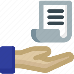 data, file, files, hand, page, paper, sharing icon