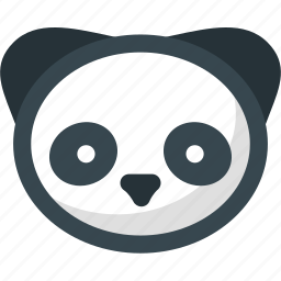 google, internet, network, online, panda, seo, web icon
