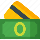 card, cash, credit, dollar, financial, money, payment icon