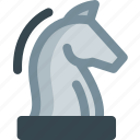chess, game, horse, play, sports, strategy icon