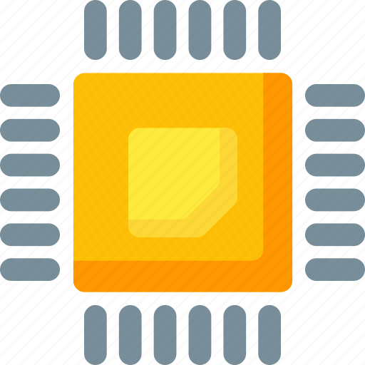 chip, computer, cpu, hardware, memory, network, technology icon
