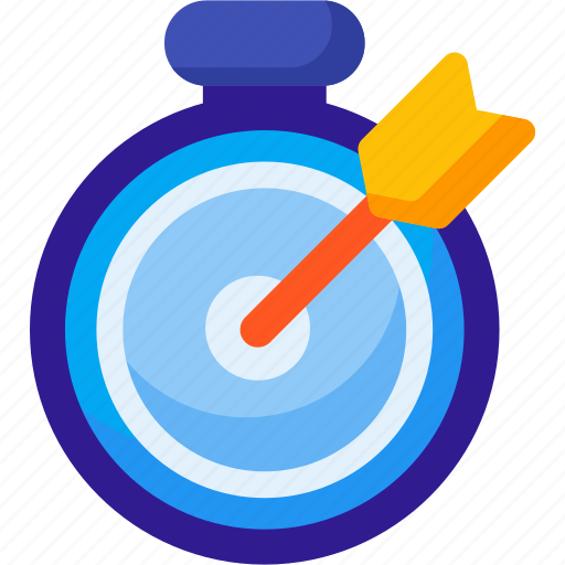 alarm, event, goal, schedule, target, time, timer icon