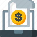 business, buy, coin, ecommerce, finance, money, online icon