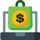bag, basket, ecommerce, money, online, shop, shopping icon