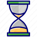 deadline, hour glass, hourglass, sand clock, timer icon