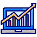 dashboard, finance, marketing, metrics, sales icon